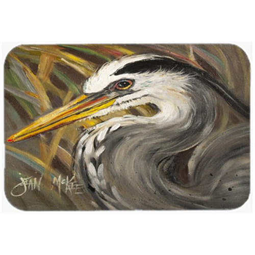 Carolines Treasures JMK1012MP Blue Heron Mouse Pad Hot Pad & Trivet