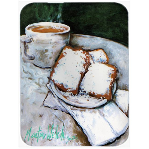 Carolines Treasures MW1189MP Beignets Breakfast Delight Mouse Pad Hot Pad & Trivet