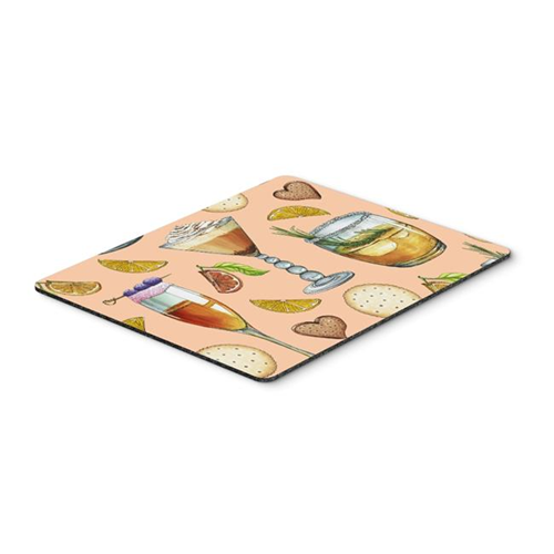 Carolines Treasures BB5200MP Drinks & Cocktails Peach Mouse Pad Hot Pad or Trivet