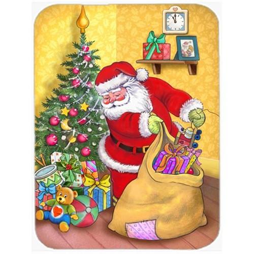 Carolines Treasures APH3923MP Christmas Santa & His Toys Mouse Pad Hot Pad or Trivet