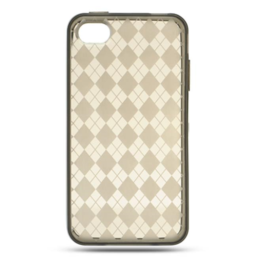 DreamWireless IP-CSIP4VZSMCK iPhone 4S & iPhone 4 Compatible Crystal Skin Case - Smoke Check