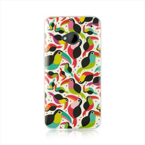 Dreamwireless Fitted Soft Shell Case for HTC One M7 - Multicolor