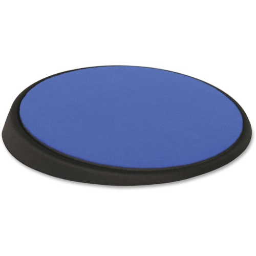 "Allsop 26226 Wrist Aid Ergonomic Circular Mouse Pad- 9"" dia.- Cobalt"
