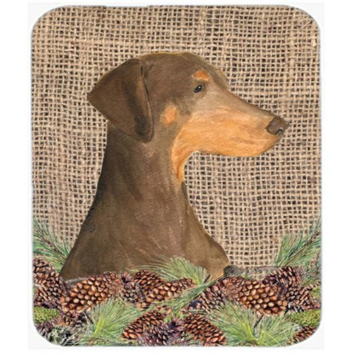 Carolines Treasures SS4070MP Doberman Mouse Pad Hot Pad Or Trivet