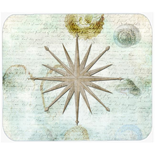Carolines Treasures SB3024MP 9.5 x 8 in. Shells Navagation Star Mouse Pad Hot Pad or Trivet