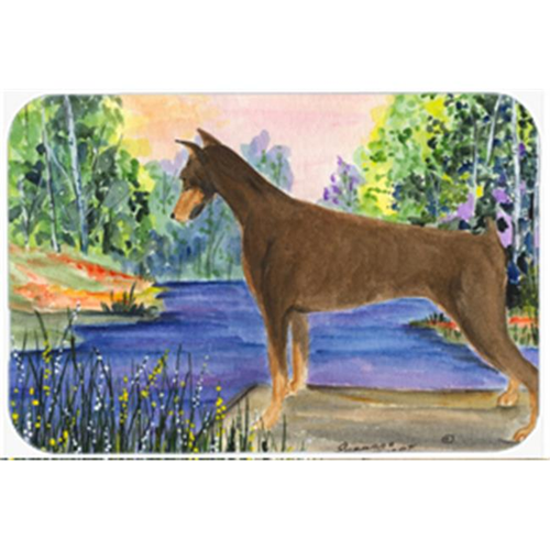 Carolines Treasures SS8066MP Doberman Mouse Pad Hot Pad & Trivet