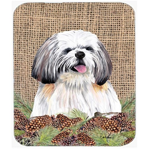 Carolines Treasures SC9040MP Shih Tzu Mouse Pad Hot Pad Or Trivet