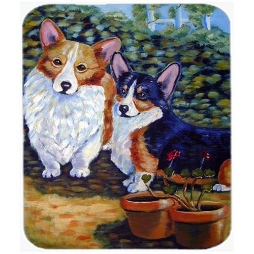 Carolines Treasures 7094MP 9.5 x 8 in. Corgi Mouse Pad Hot Pad or Trivet