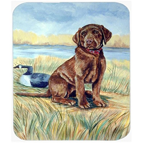 Carolines Treasures 7090MP 9.5 x 8 in. Chocolate Labrador Puppy Mouse Pad Hot Pad or Trivet