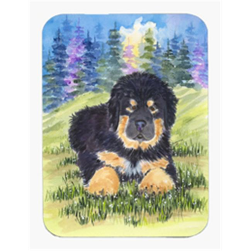 Carolines Treasures SS1037MP 8 x 9.5 in. Tibetan Mastiff Mouse Pad Hot Pad or Trivet