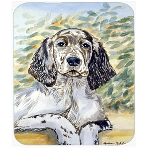 Carolines Treasures 7065MP 9.5 x 8 in. English Setter Mouse Pad Hot Pad or Trivet