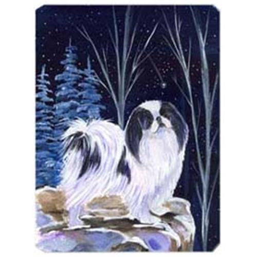 Carolines Treasures SS8374MP Starry Night Japanese Chin Mouse Pad