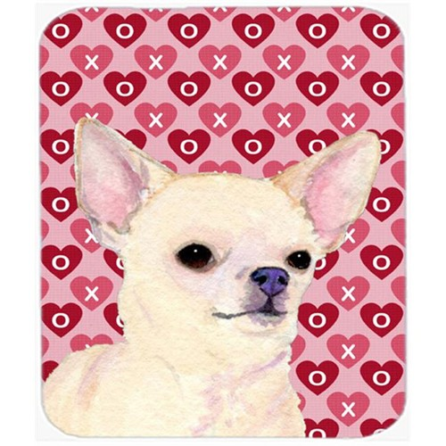 Carolines Treasures SS4472MP Chihuahua Hearts Love And Valentines Day Portrait Mouse Pad Hot Pad Or Trivet
