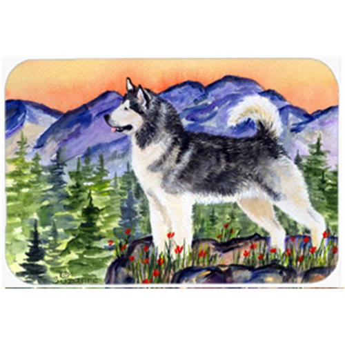 Carolines Treasures SS8157MP Alaskan Malamute Mouse Pad Hot Pad & Trivet