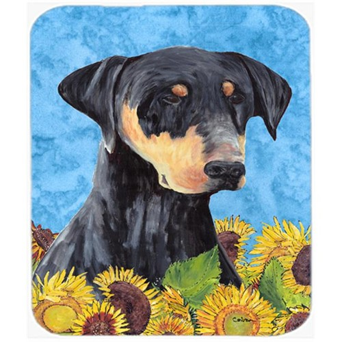 Carolines Treasures SC9073MP Doberman Mouse Pad Hot Pad Or Trivet
