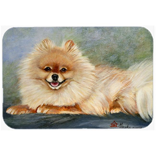 Carolines Treasures MH1055MP Pomeranian Full Body Mouse Pad Hot Pad & Trivet