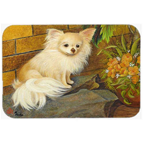 Carolines Treasures MH1053MP Chihuahua Just Basking Mouse Pad Hot Pad & Trivet