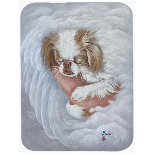 Carolines Treasures MH1037MP Japanese Chin In An Angels Arms Mouse Pad Hot Pad & Trivet