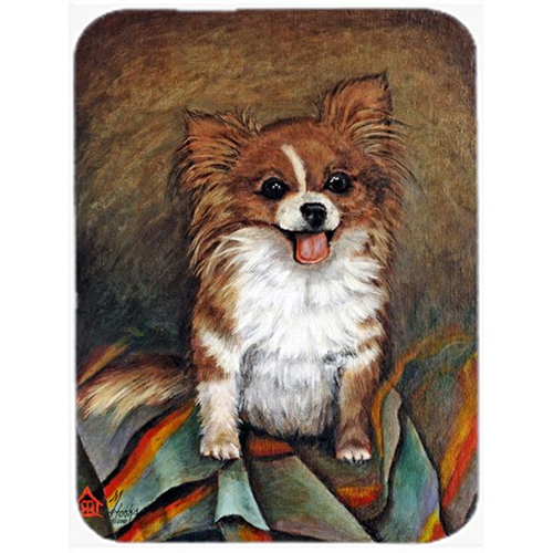 Carolines Treasures MH1039MP Cecilia Chihuahua Long Hair Mouse Pad Hot Pad & Trivet