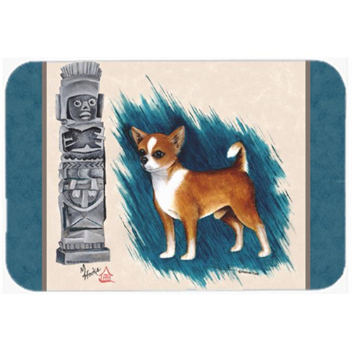 Carolines Treasures MH1011MP Chihuahua Totem Mouse Pad Hot Pad & Trivet