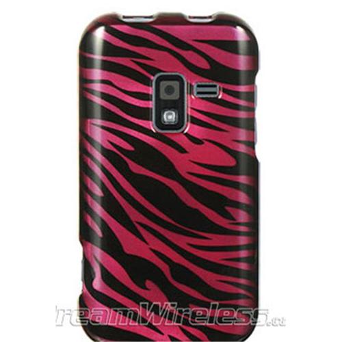 DreamWireless CASAMR920PLZ Samsung Galaxy Attain 4G & R920 Crystal Case Plum Plus Black Zebra