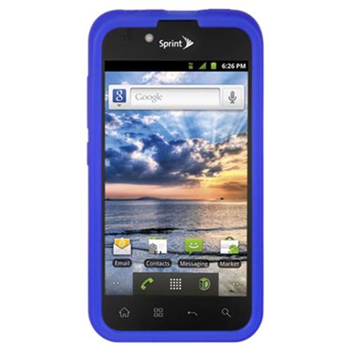 DreamWireless SCLGLS855BL-PR LG Marquee & Ls855 Skin Case Blue