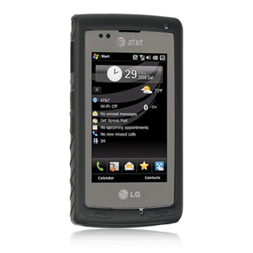 DreamWireless SCLGCT810BK LG Incite CT810 Premium Skin Case - Black