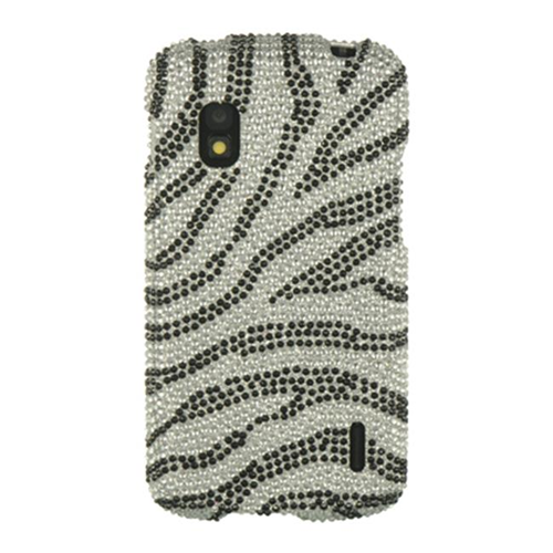 Dreamwireless Fitted Hard Shell Case for LG Nexus 4 - Silver