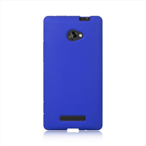 DreamWireless SCHTC8XBL-PR HTC One 8X Premium Skin Case - Blue