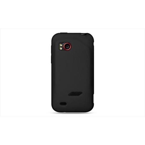 DreamWireless SCHTCVIGORBK-PR HTC Rezound & Vigor Premium Skin Case - Black