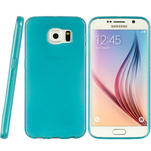 DreamWireless CSSAMS6-TS-TL Samsung Galaxy S6 Crystal Skin Case Transparent Teal