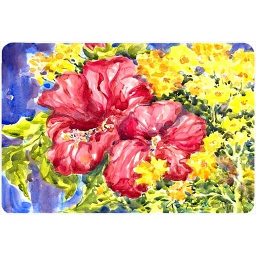 Carolines Treasures 6056MP Flower - Hibiscus Mouse Pad Hot Pad Or Trivet