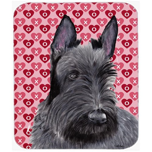Carolines Treasures SC9254MP Scottish Terrier Hearts Love And Valentines Day Mouse Pad Hot Pad Or Trivet
