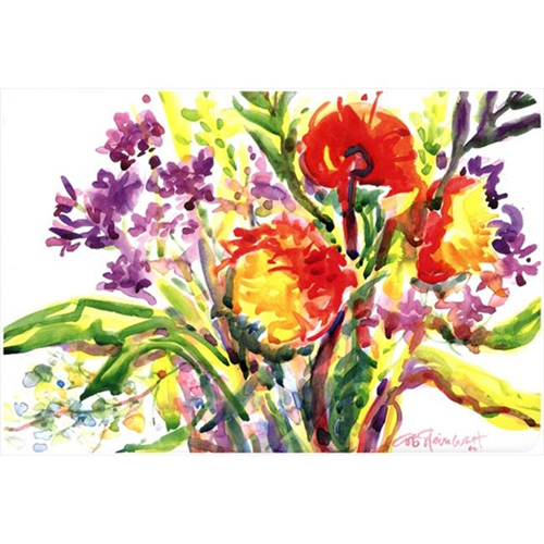 Carolines Treasures 6042MP Flower Mouse Pad Hot Pad Or Trivet