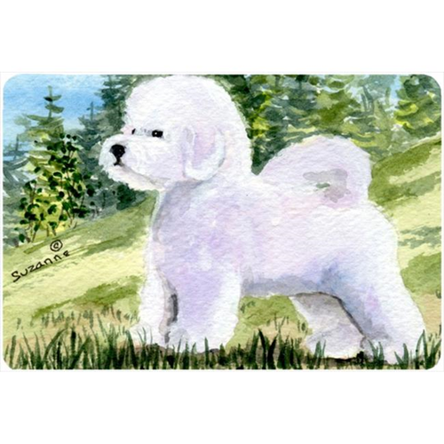 Carolines Treasures SS8900MP 9.25 x 7.75 in. Bichon Frise Mouse Pad Hot Pad or Trivet