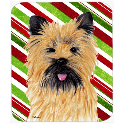 Carolines Treasures SC9335MP Cairn Terrier Candy Cane Holiday Christmas Mouse Pad Hot Pad or Trivet