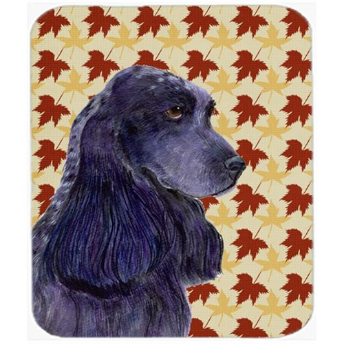 Carolines Treasures SS4385MP 9.5 x 8 in. Cocker Spaniel Fall Leaves Portrait Mouse Pad Hot Pad or Trivet