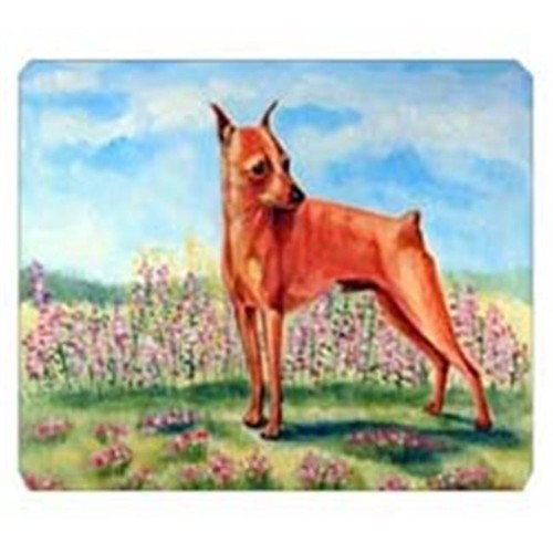Carolines Treasures 7516MP 8 x 9.5 in. Min Pin Mouse Pad Hot Pad or Trivet