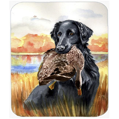 Carolines Treasures 7032MP 9.5 x 8 in. Flat Coated Retriever Mouse Pad Hot Pad or Trivet
