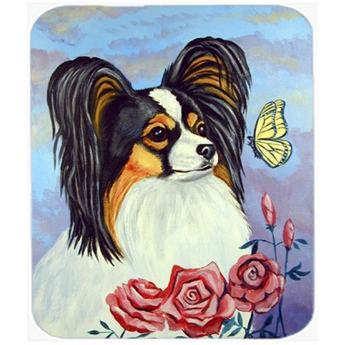 Carolines Treasures 7036MP 9.5 x 8 in. Papillon with Butterfly Mouse Pad Hot Pad or Trivet