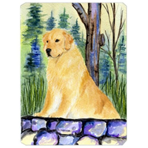 Carolines Treasures SS8111MP 8 x 9.5 in. Golden Retriever Mouse Pad Hot Pad or Trivet