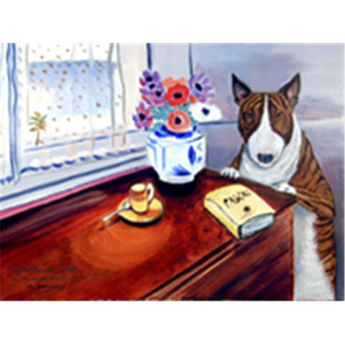 Carolines Treasures 7249MP 8 x 9.5 in. Bull Terrier Mouse Pad Hot Pad or Trivet