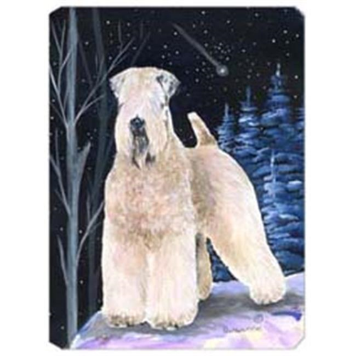 Carolines Treasures SS8364MP Starry Night Wheaten Terrier Soft Coated Mouse Pad