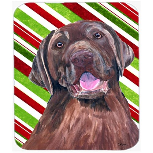 Carolines Treasures SC9344MP Labrador Candy Cane Holiday Christmas Mouse Pad Hot Pad or Trivet