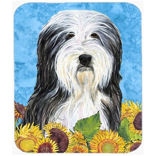 Carolines Treasures SS4130MP Bearded Collie Mouse Pad Hot Pad or Trivet