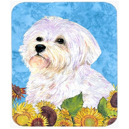 Carolines Treasures SS4114MP Maltese Mouse Pad Hot Pad or Trivet