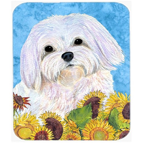Carolines Treasures SS4115MP Maltese Mouse Pad Hot Pad or Trivet