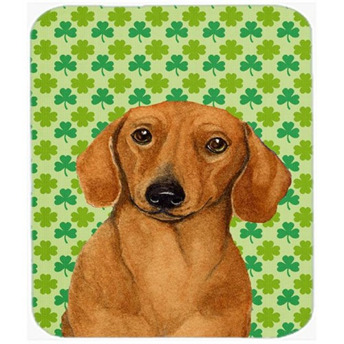Carolines Treasures LH9177MP Dachshund St. Patricks Day Shamrock Portrait Mouse Pad Hot Pad or Trivet