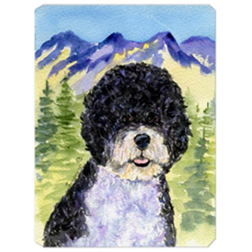 Carolines Treasures SS8303MP Portuguese Water Dog Mouse Pad Hot Pad & Trivet