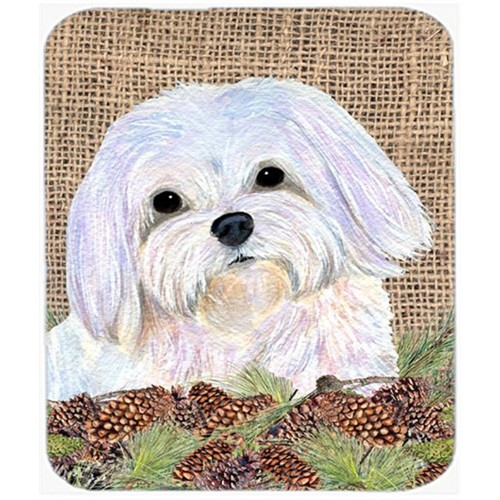 Carolines Treasures SS4073MP Maltese Mouse Pad Hot Pad Or Trivet